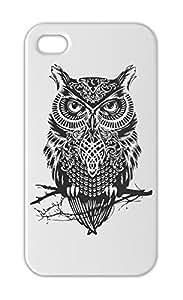 Owl Graphic Iphone 5-5s plastic case