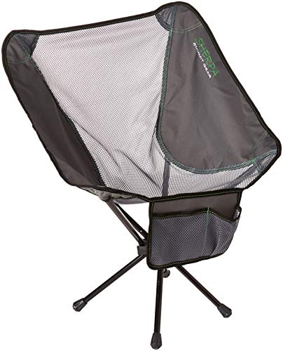 Sherpa Summit Gear Micro Foldable Camping Chair, Grey, One Size