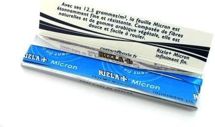 Papeles de Enrollar Rizla Micron Delgado 10 x