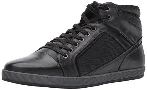 Sneaker Steve Madden Mens Prinz In Pelle Nera