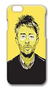 Apple Iphone 6 Case,WENJORS Awesome Thom Yorke Hard Case Protective Shell Cell Phone Cover For Apple Iphone 6 (4.7 Inch) - PC 3D