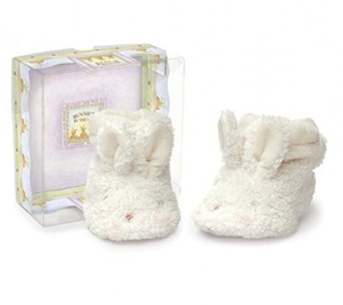 Bunnies By the Bay Hoppy Booties, Small/3-6 Months