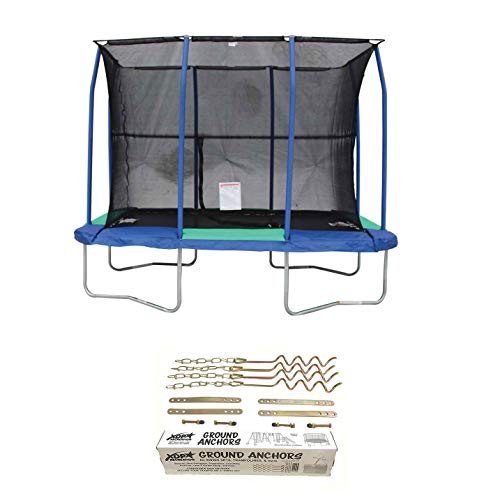 JumpKing-7-x-10-Foot-Trampoline-and-XDP-Recreation-Metal-Ground-Anchor-Kit