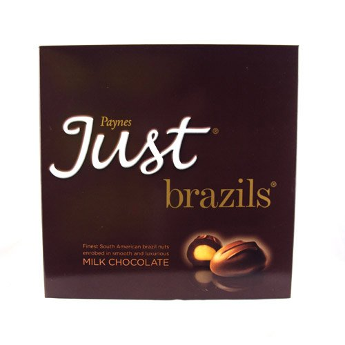 Paynes Just Brazils Milk Chocolate, 180g
