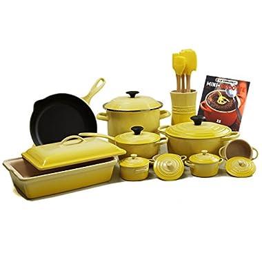 Le Creuset Soleil 20-piece Cookware Set