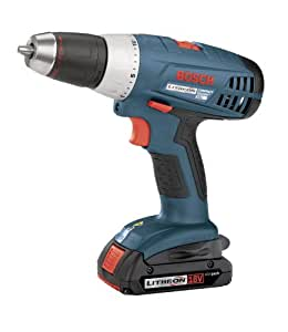 Factory-Reconditioned Bosch 36618-02-RT 18-Volt 1/2-Inch Compact-Tough Litheon Drill/Driver with 2 Slim Batteries