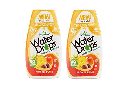 - Sweetleaf Water Drops 1.62 fl.oz Tropical (2 Pack)
