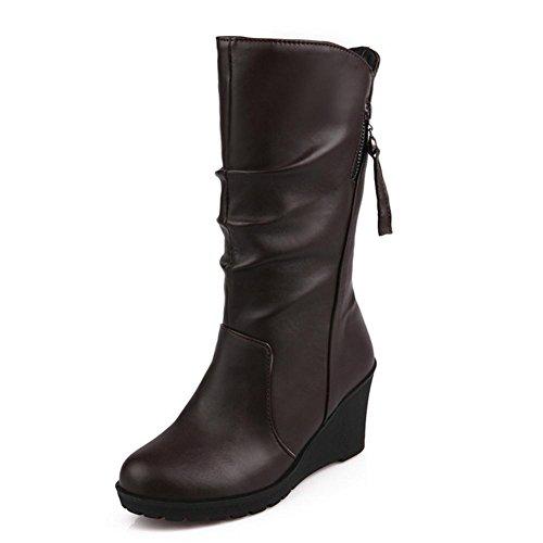 Marrone Beige Non slip Black Cilindro Wear lato Rubber Boot HQuattro Rosso di neve 41 il stagioni brown laterale H Rubber Donne con Slip Pendenza w1IYtRxqyx
