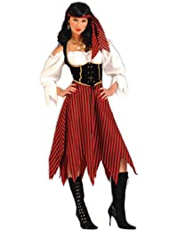 75569 Adult Pirate Maiden Costume, Large