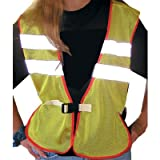 Reflective Mesh Riding Safety Vest
