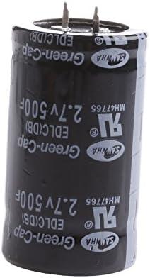 Amazon com: RUNRO 1PC Farad Capacitor 2 7V 500F 3560MM Super