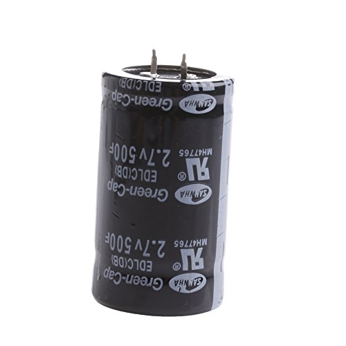 (EAPTS 1PC Farad Capacitor 2.7V 500F 3560MM Super Capacitor)