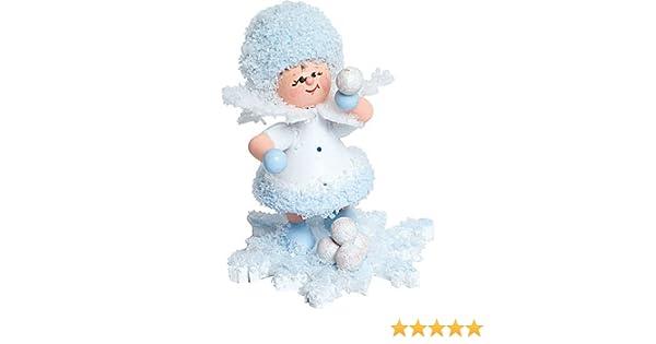 con copo de nieve bola de nieve Batalla – 5 cm: Amazon.es: Hogar