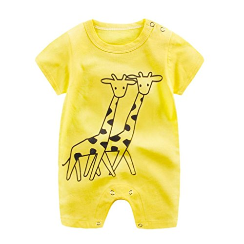 In My Closet Halloween Costumes (TRENDINAO Newborn Baby Boy Girl Cartoon Giraffe Romper Jumpsuit Toddlers Infant Climbing Clothes)