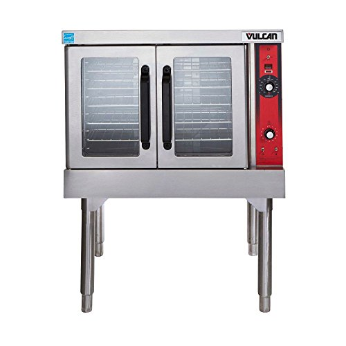 Vulcan VC44GD-1/CASTERS Natural Gas Double Deck Convection Oven Double Deck Convection Oven