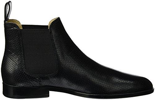 Melvin&Hamilton Susan 10, Zapatillas de Estar por Casa para Mujer Schwarz (Salerno Perfo Black Ela Black LS NAT.)