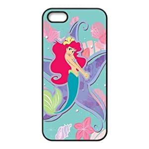 Customize Cartoon Little Mermaid Back Case for Apple iphone5 5S JN5S-2116