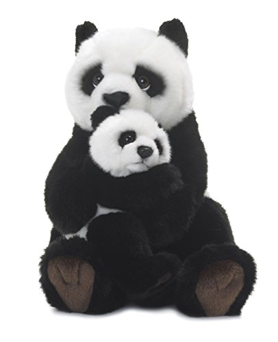 Used, WWF Giant Panda plush stuffed animal soft toy MUM AND for sale  Delivered anywhere in Canada