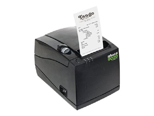 ITHACA 9000 THERMAL PRINTER 3 IN 1 PLAIN OR STICKY PAPER 40 58 OR 80MM PAPER SIZE USB DARK GRAY CABINETRY REPLACES 280-USB-DG AND 280-USB / 9000-USB /