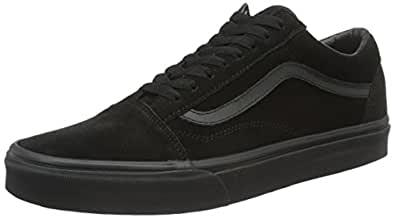 Vans Womens U Old Skool Vn-0a38g1qd6 Black Size: 5.5 Women/4 Men