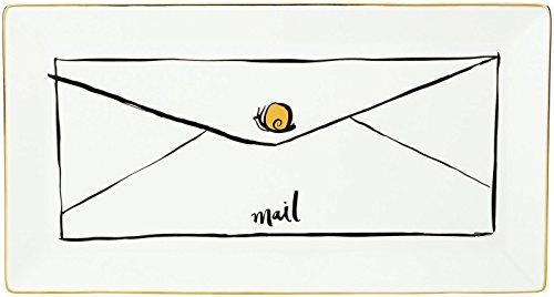Daisy Tray - Kate Spade New York Daisy Place Snail Mail Tray
