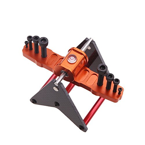 (LUQUAN Blade Propeller Balancer For 250 450 500 600 700 Rc Helicopter Multirotor Airplane Orange And)