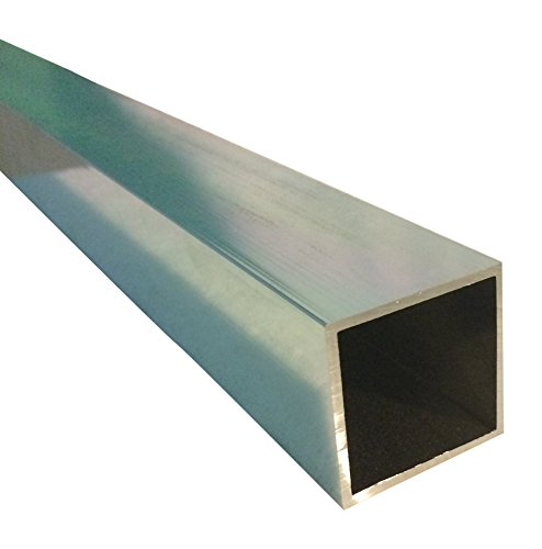 Sanymetal 13312 1 3/4'' Square Post x 70'' Aluminum Long Brite by Sanymetal