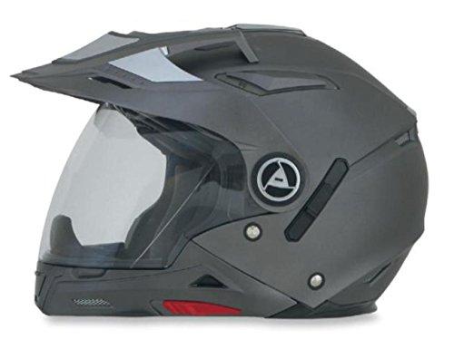AFX FX-55 7-In-1 Solid Helmet , Gender: Mens/Unisex, Helmet Type: Modular Helmets, Helmet Category: Street, Distinct Name: Frost Gray, Primary Color: Gray, Size: Md ()