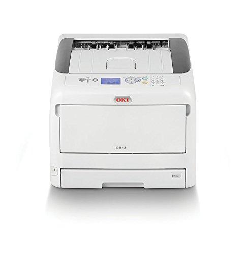 23 opinioni per OKI C813n Stampante con tecnologia LED, a colori, A3, 23 pagine al minuto