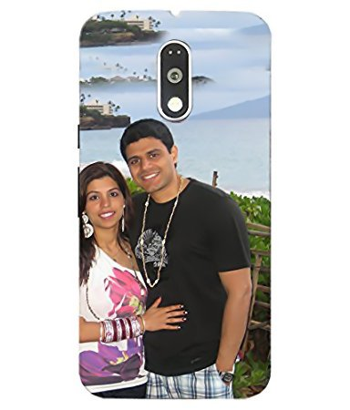 pretty nice 506f1 28153 Personalized Mobile Cover Printing Motorola Moto G4: Amazon.in ...