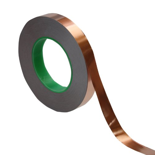 Cinta de Cobre 19mm x 50mt Adhesivo Conductor TAPES MASTER