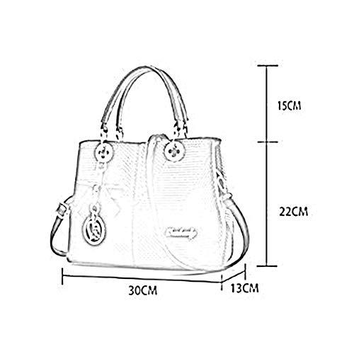Messenger Couleurs 13 PU LYZ864 Sac Femmes 5 Bag à Sac 22cm à 30 ANLEI Main 05 La Mode bandoulière XBqx6PP