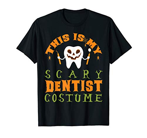 Scary Dentist Halloween Costume (This Is My Scary Dentist Costume Funny Halloween Gifts)