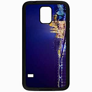 Unique Design Fashion Protective Back Cover For Samsung Galaxy S5 Case Budapest Hungary Building Black