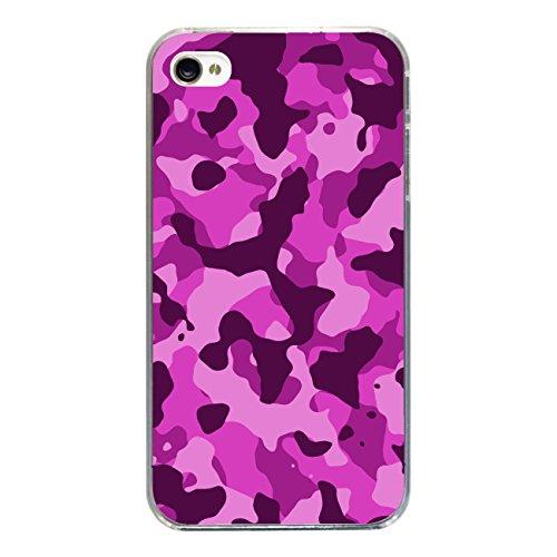 """Disagu Design Case Coque pour Apple iPhone 4 Housse etui coque pochette """"Camouflage Pink"""""""
