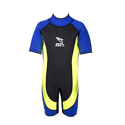 IST Kids Wetsuit - 3mm Junior Shorty Childs Wetsuit Medium