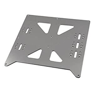 [Gulfcoast Robotics] V2 Aluminum Y Carriage Plate Upgrade for Prusa i3 style 3D Printer by Gulfcoast Robotics