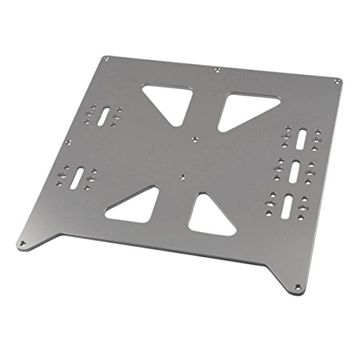 [Gulfcoast Robotics] V2 Aluminum Y Carriage Plate Upgrade for Prusa i3 Style 3D Printer