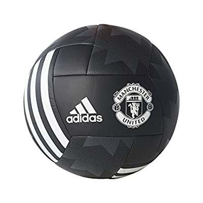adidas Performance Manchester United Ball, Black, Size 3