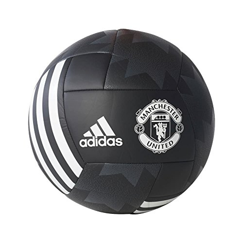 fan products of adidas Performance Manchester United Ball, Black, Size 4
