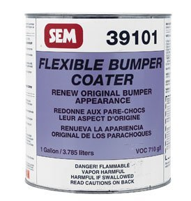 SEM 39101 Black Original Flexible Bumper Coater Aerosol - 1 Gallon by SEM (Image #1)