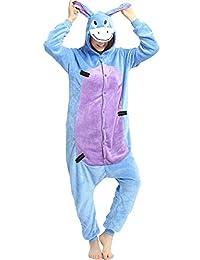Indiefit Adult Onesie Pyjamas Flannel Cosplay Costume Sleepwear Nightgown