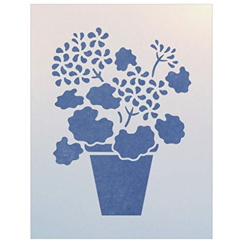 - Geranium Pot Stencil - The Artful Stencil