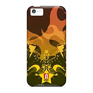 High Impact Dirt/shock Proof Cases Covers For Iphone 5c (truck Art)