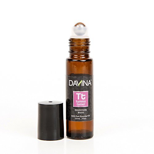 Tummy Tamer Digestion/Nausea Essential Oil Roll-on 10ml by Davina – Ready to Go!