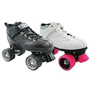 Pacer Outdoor Roller Skates GTX-500 Sonic Wheels Black and Green