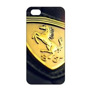 diy zhengCool-benz gold logo ferrari (3D)Phone Case for iphone 5/5s/