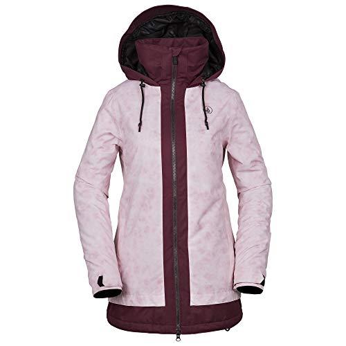 (Volcom Women's Westland Insulated Snow Jacket Pink)