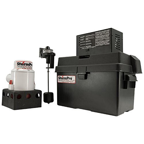 StormPro 2100DC Battery Backup Sump Pump System