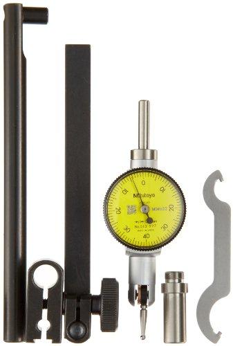 Mitutoyo 513-527T Pocket Type Dial Test Indicator, Full Set, Horizontal...